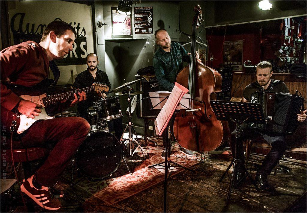 Sébastien Giniaux et son quartet
